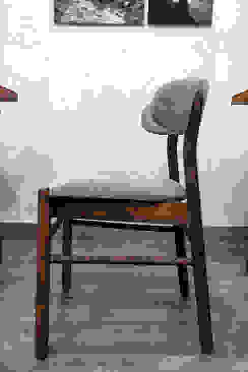 Manna | Mobiliário Restaurante Boa Safra Sala de estarBancos e cadeiras Madeira maciça