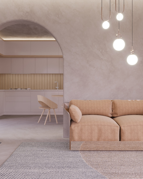 Cristina La Porta Studio غرفة المعيشة