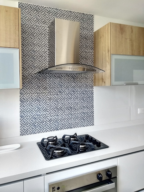 Remodelar Proyectos Integrales Built-in kitchens MDF White