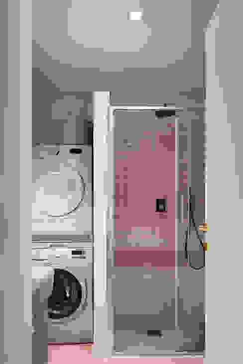 bagno rosa lavanderia Lascia la Scia S.n.c. Bagno eclettico Rosa