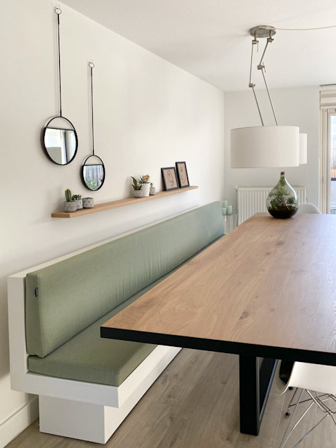 Desert Rose Interior Design Skandinavische Esszimmer