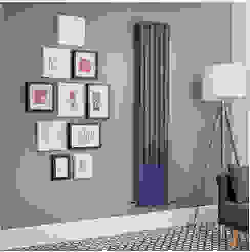 Radiatore di Design Verticale Doppio - Blu - Revive - Disponibile in Diverse Misure Hudson Reed Italia Soggiorno moderno Blu