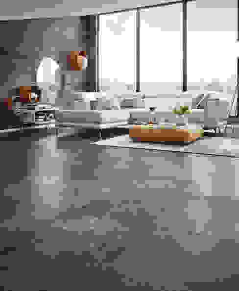 Designkork SAMOA Artbeton scuro KWG Wolfgang Gärtner GmbH Boden Kork Schwarz