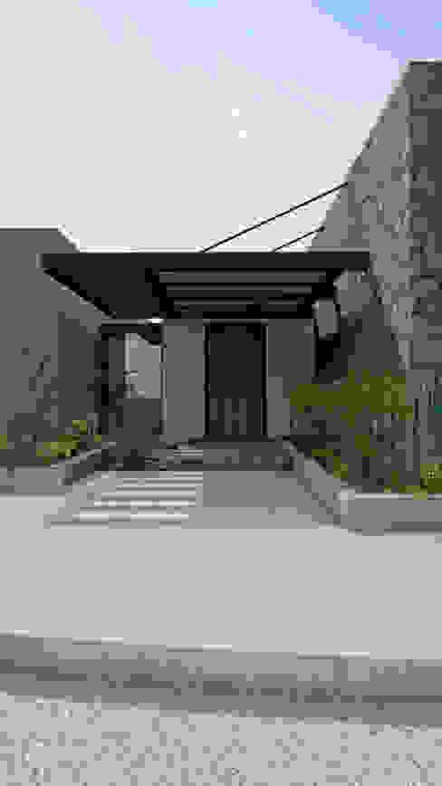 Acceso CONCEPTUAL ESTUDIO + ARQUITECTURA SAS Casas unifamiliares