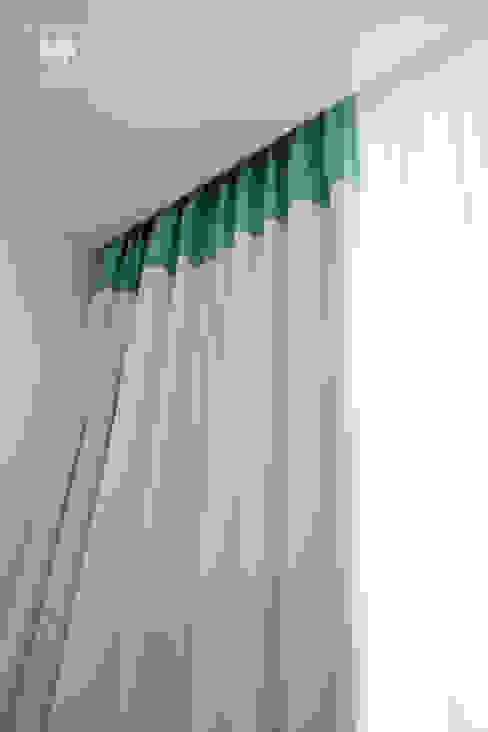 Cortinado blackout H&P Mobiliário e Decoração QuartoTêxteis Têxtil Branco