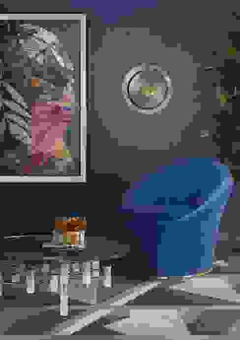 Create a Mid-Century Style Living Room Essential Home Вітальня