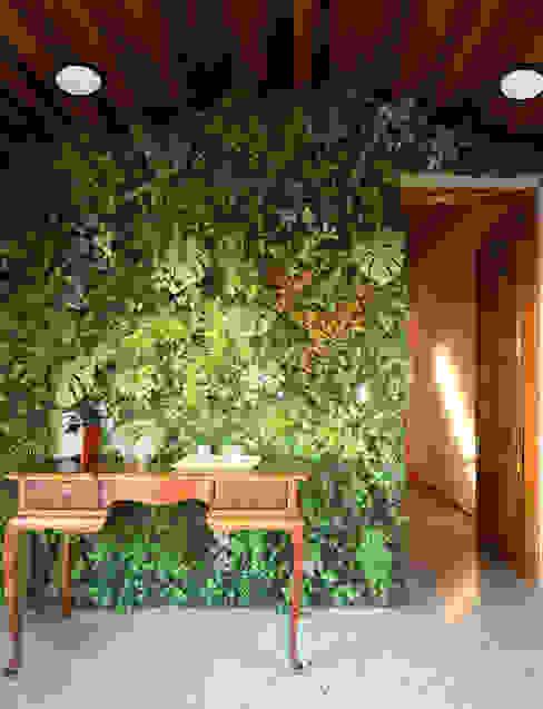 MOOD- Escritório Pacaembu Estúdio Mood Espaços comerciais modernos Derivados de madeira Verde
