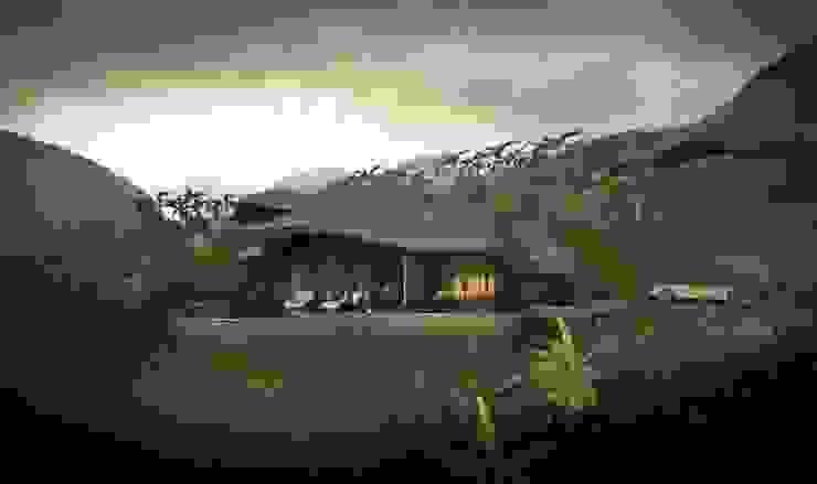 The Shells // Außenansicht Tropische Häuser von designyougo - architects and designers Tropisch