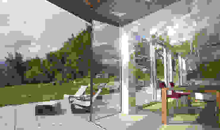 Терраса в средиземноморском стиле от designyougo - architects and designers Средиземноморский Гранит