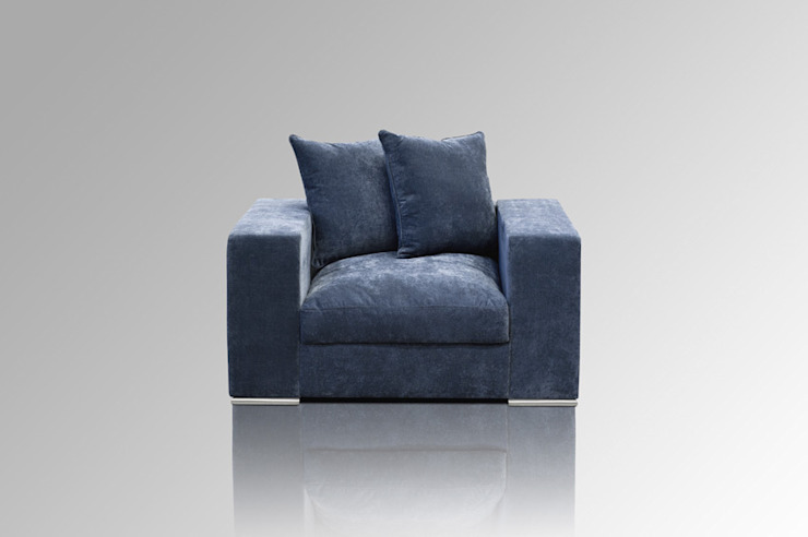Sessel blaugrau: modern  von AMARIS Elements GmbH,Modern