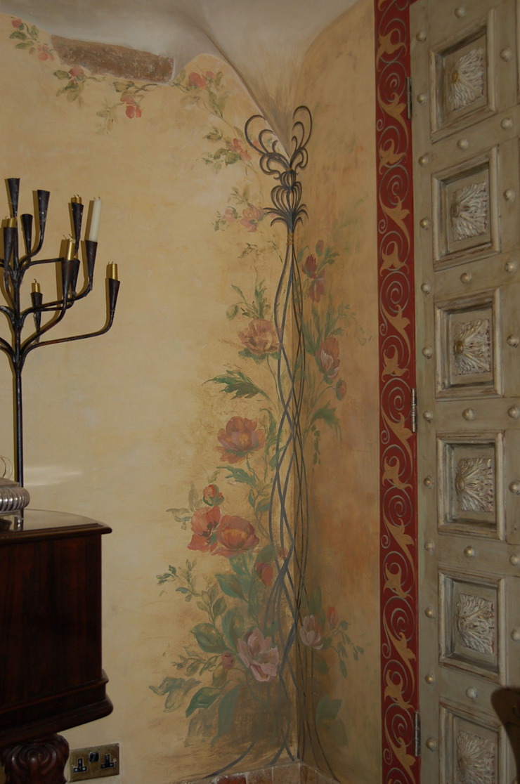 Englische Landvilla von Wandmalerei & Oberflächenveredelungen Klassisch