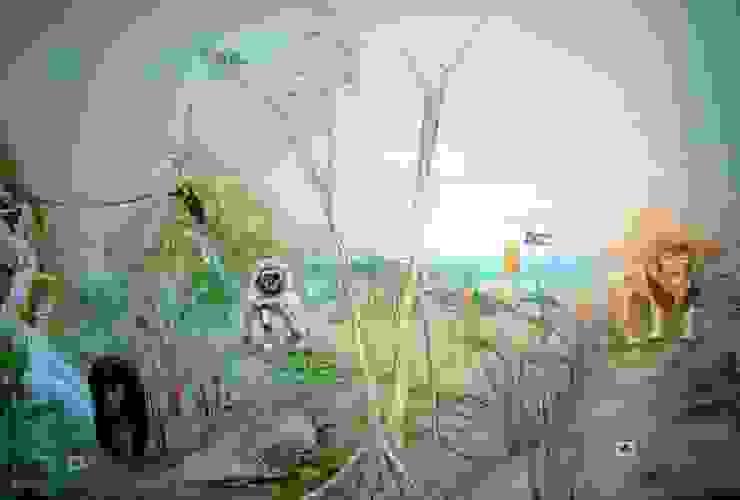 Chambre d'enfant originale par Wandmalerei & Oberflächenveredelungen Éclectique
