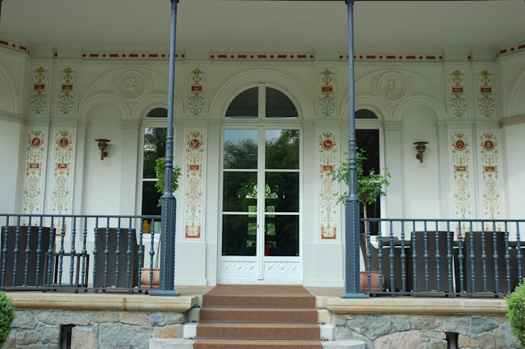 Balcon, Veranda & Terrasse classiques par Wandmalerei & Oberflächenveredelungen Classique