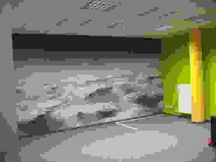 Espaces de bureaux originaux par Wandmalerei & Oberflächenveredelungen Éclectique