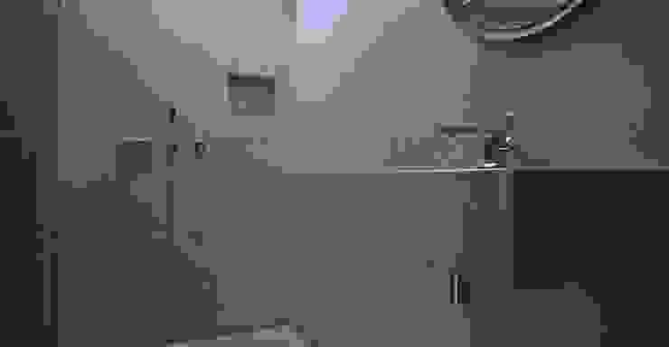 Badezimmer - Feuchträume in Betonoptik von Fugenlose mineralische Böden und Wände Industrial