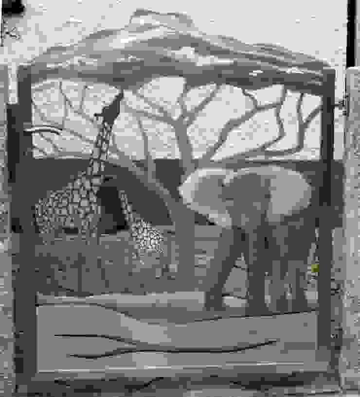 Artistic Stainless Steel Modern garden by Edelstahl Atelier Crouse: Modern