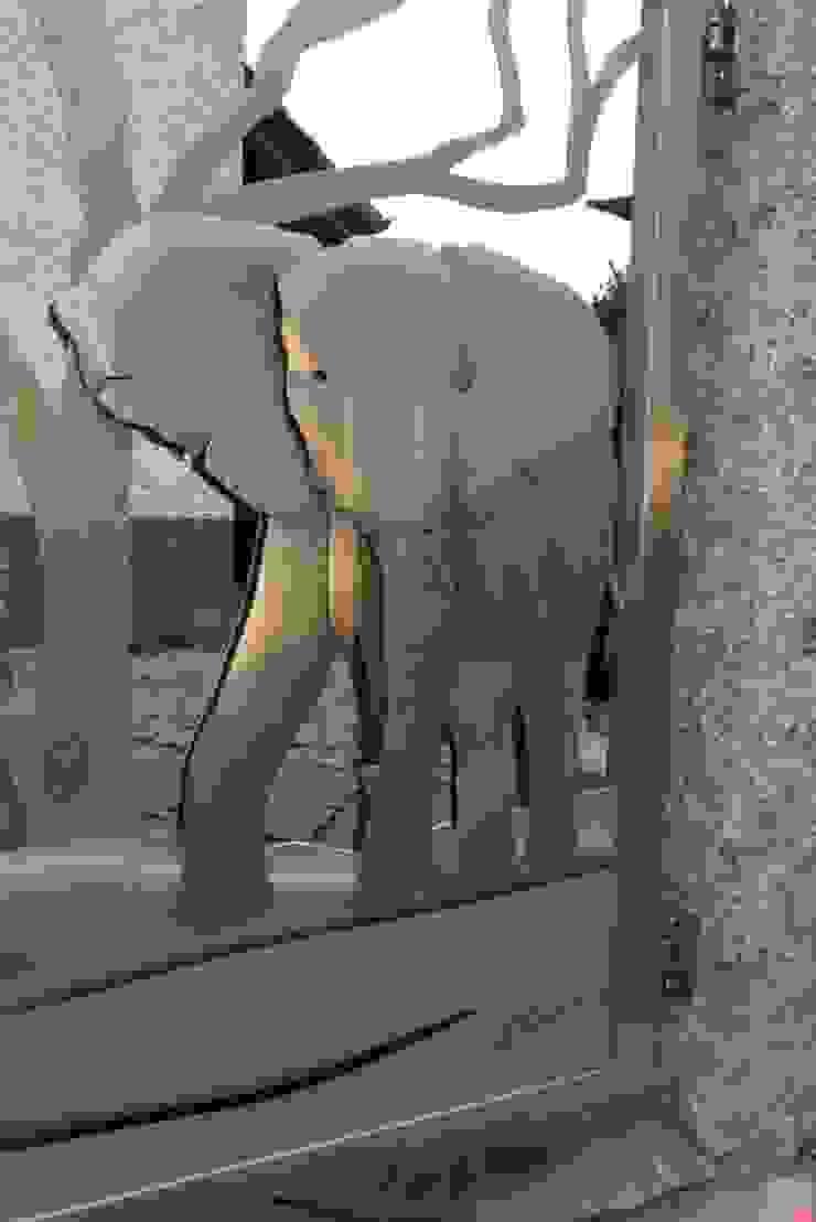Stainless Steel Gate Design Modern garden by Edelstahl Atelier Crouse: Modern