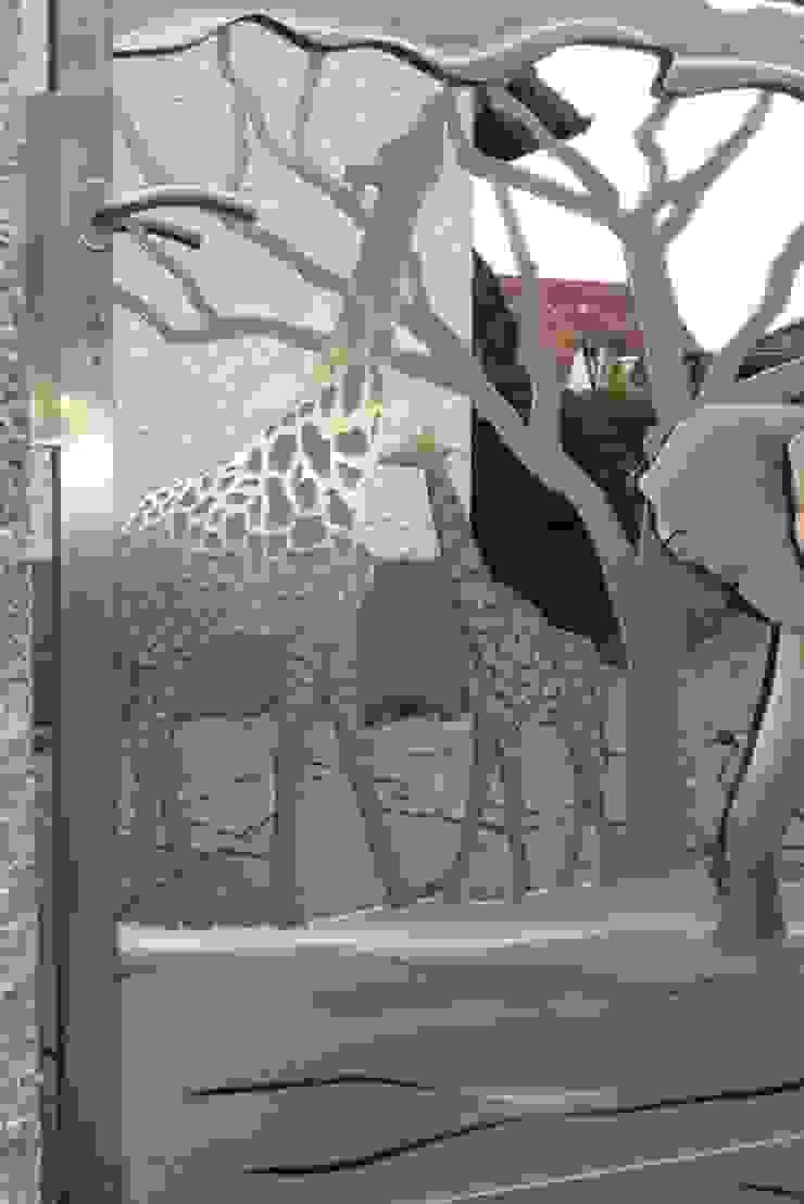 Stainless Steel Gates Modern garden by Edelstahl Atelier Crouse: Modern