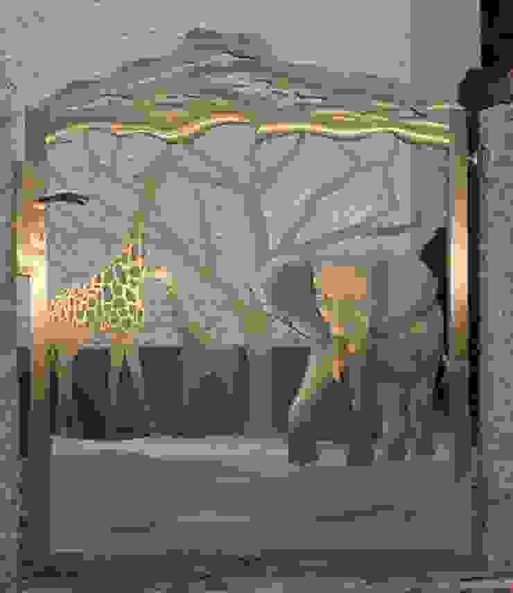 Stainless Steel Gate Modern garden by Edelstahl Atelier Crouse: Modern