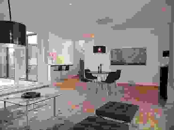 Modern dining room by berlin homestaging Modern
