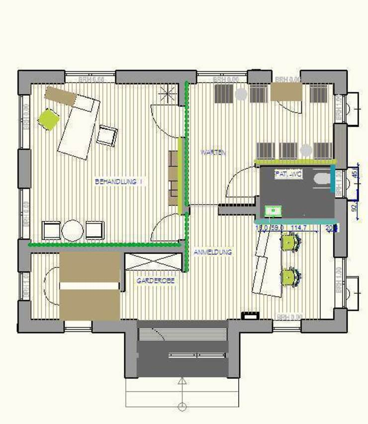 Psychiatrische Praxis in Alzey Moderne Häuser von Einrichtungsideen Modern