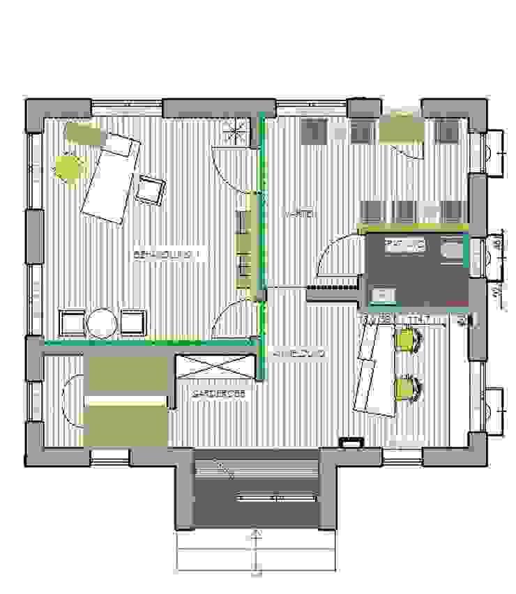 Casas modernas por Einrichtungsideen Moderno