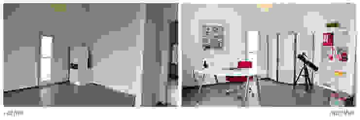 Leerstehende Immobilie: modern  von Homestaging,Modern
