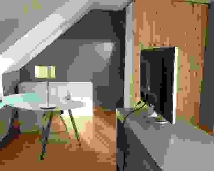 Jugendzimmer Arbeitsbereich + Kleiderecke Einrichtungsideen Moderne Kinderzimmer
