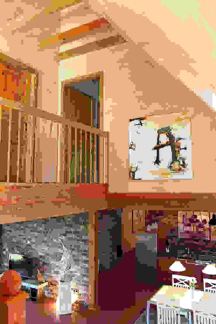 wohnhelden Home Staging Pasillos, vestíbulos y escaleras de estilo rural