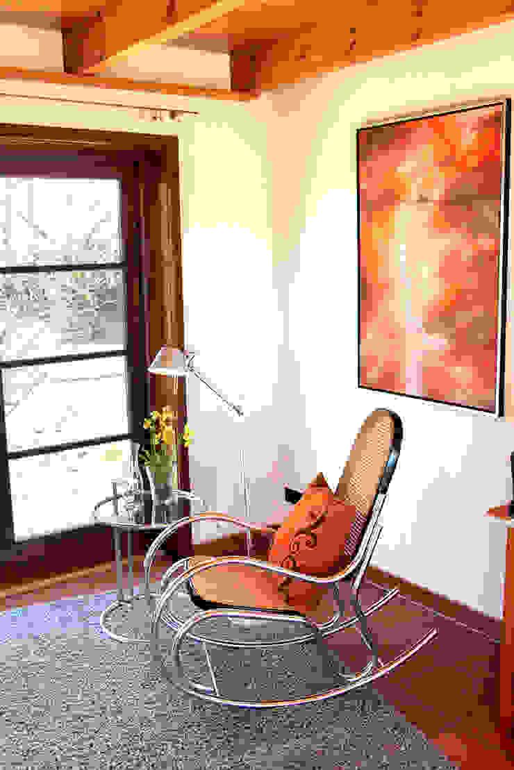 wohnhelden Home Staging Oficinas de estilo rural