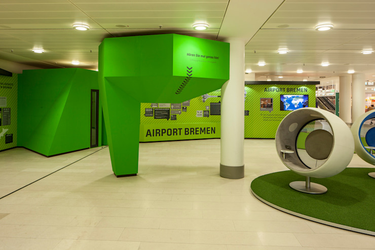 Aeroportos modernos por Hellmers P2 | Architektur & Projekte Moderno