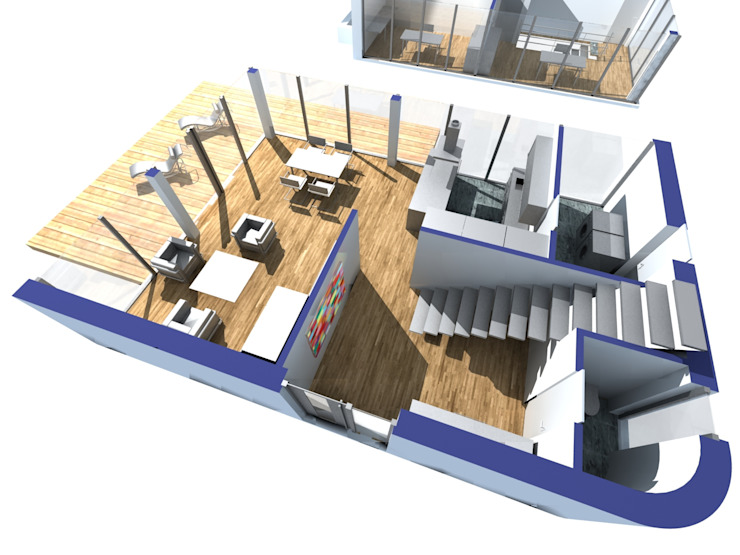 โดย Hellmers P2 | Architektur & Projekte โมเดิร์น