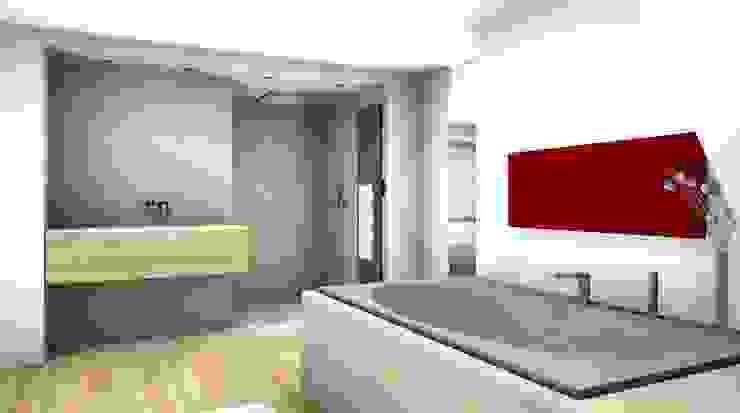 Fitness & Sauna Moderne Badezimmer von Peter Rohde Innenarchitektur Modern