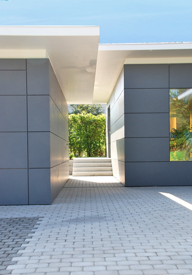 Garage Neubau Moderne Garagen & Schuppen von Peter Rohde Innenarchitektur Modern