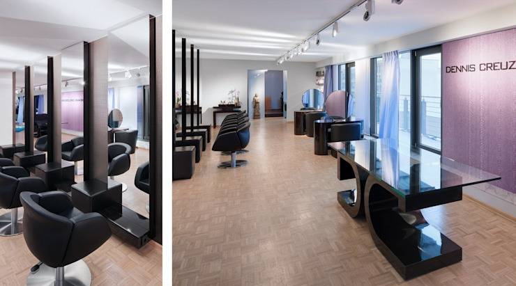 Penthouse Studio Stylist Dennis Creuzberg Moderne Geschäftsräume & Stores von BERLINRODEO interior concepts GmbH Modern