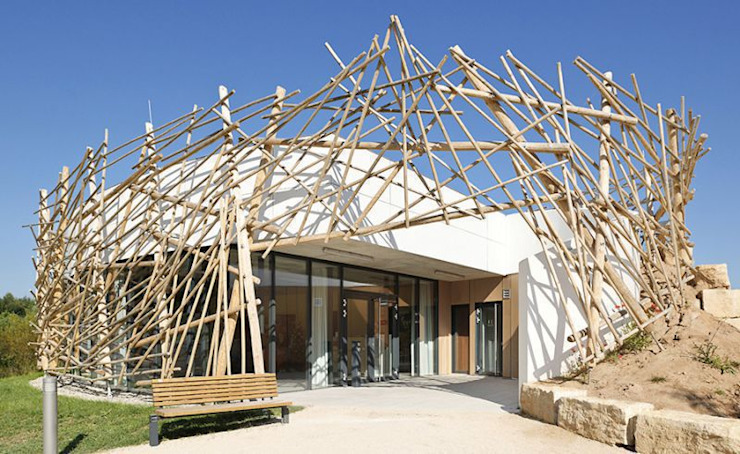 Umweltstation Rothsee Häuser von [lu:p] Architektur GmbH