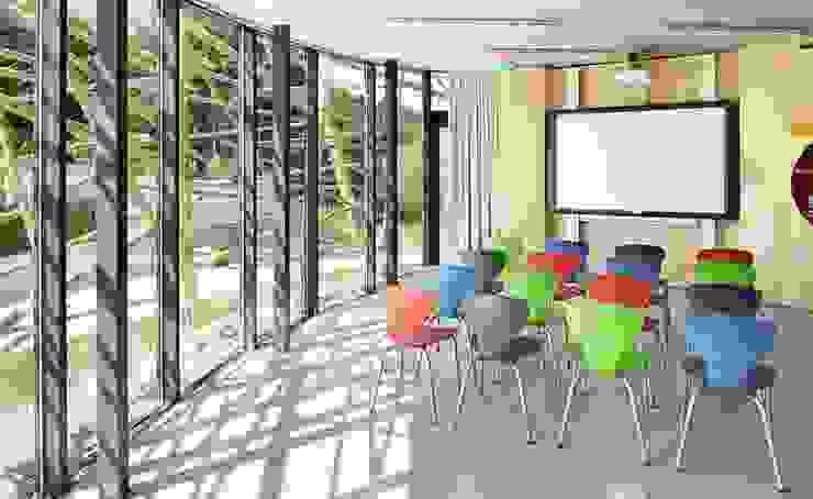 Umweltstation Rothsee Multimedia-Raum von [lu:p] Architektur GmbH