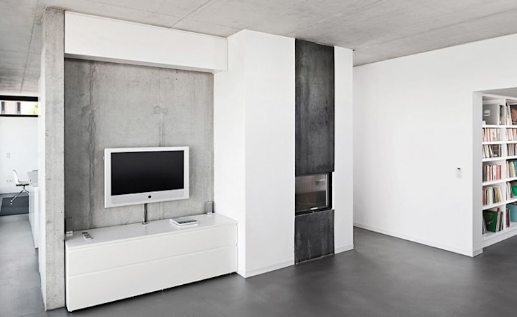Living room by [lu:p] Architektur GmbH