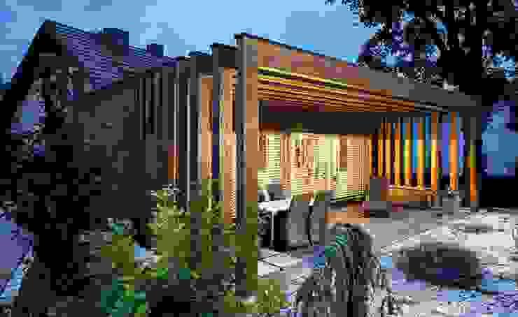 Балкон и терраса в классическом стиле от [lu:p] Architektur GmbH Классический