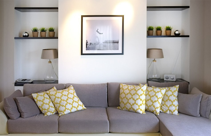 Dünenpalais Seebad Ahlbeck, No.15 Moderne Wohnzimmer von Innenarchitektur Berlin Modern