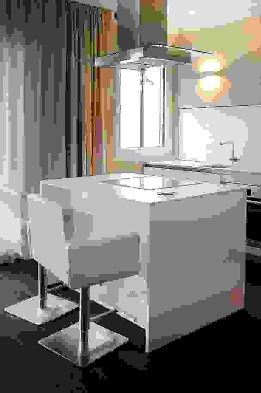 Dünenpalais Seebad Ahlbeck, No.15 Moderne Küchen von Innenarchitektur Berlin Modern