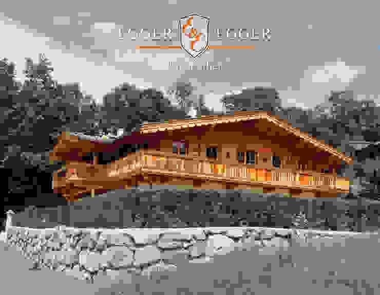 Luxuriöse Residenz in Top-Lage von Kitzbühel Landhäuser von homify Landhaus