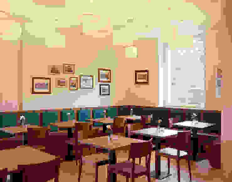 Restaurant Goldener Anker Esszimmer von Architektur & Interior Design