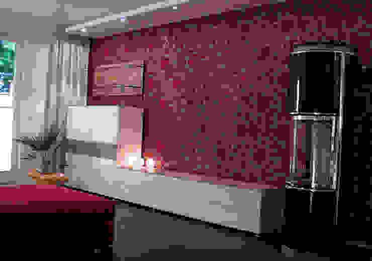 Einfamilienhaus Wendisch Rietz Asiatische Wohnzimmer von RAUMAX GmbH Asiatisch