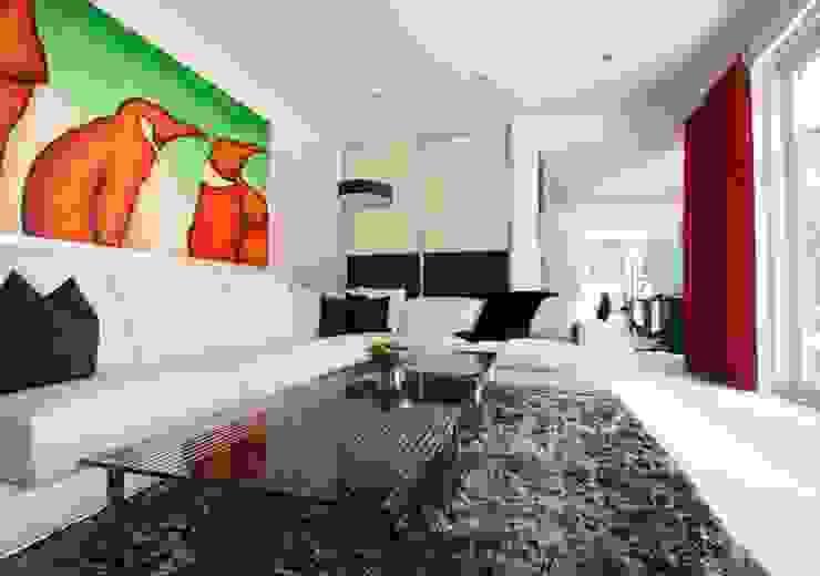 Einfamilienhaus Berlin-Zehlendorf Moderne Wohnzimmer von RAUMAX GmbH Modern