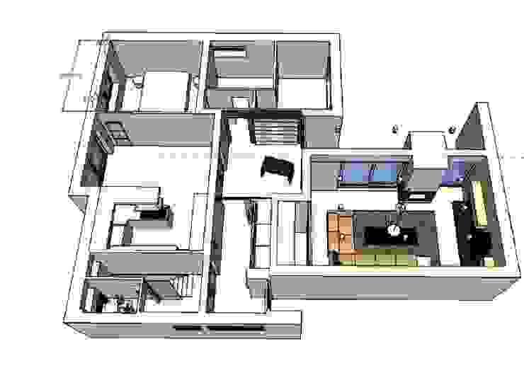 Einfamilienhaus Berlin-Zehlendorf Moderne Häuser von RAUMAX GmbH Modern