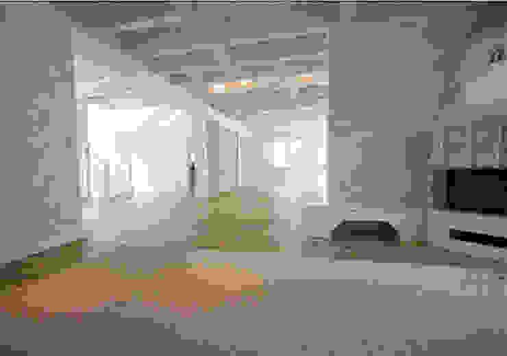 Einfamilienhaus Mühlenbeck Moderne Wohnzimmer von RAUMAX GmbH Modern