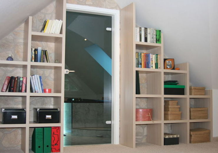 Einfamilienhaus Mühlenbeck Moderne Arbeitszimmer von RAUMAX GmbH Modern