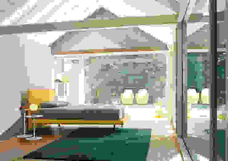 Dachschrägen einrichten Moderne Wohnzimmer von RAUMAX GmbH Modern