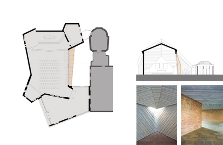 Denkmalgerechte Sanierung der Scharounkirche in Bochum Häuser von andreas gehrke . architekt